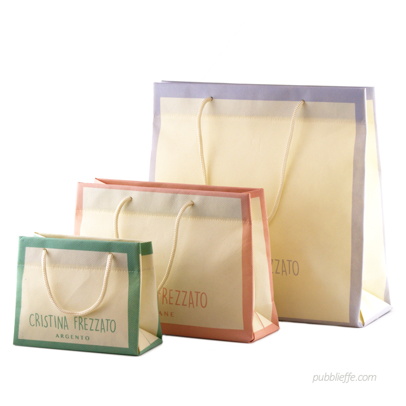 Luxury bag con stampa digitale pastello