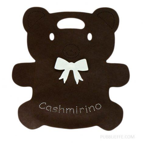 Busta forma animale - orso