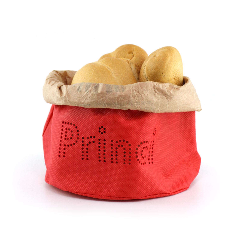 Sacchetto arrotolato con busta pane