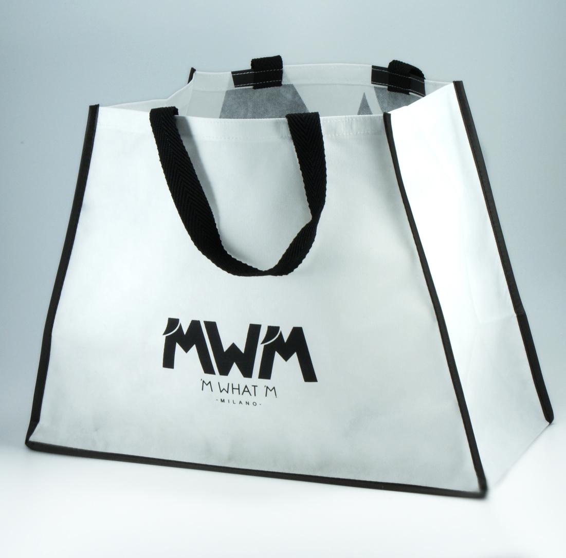 borsa personalizzata con stampa serigrafica