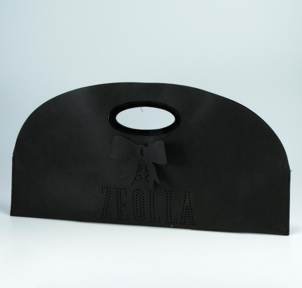 portacravatta con logo traforato