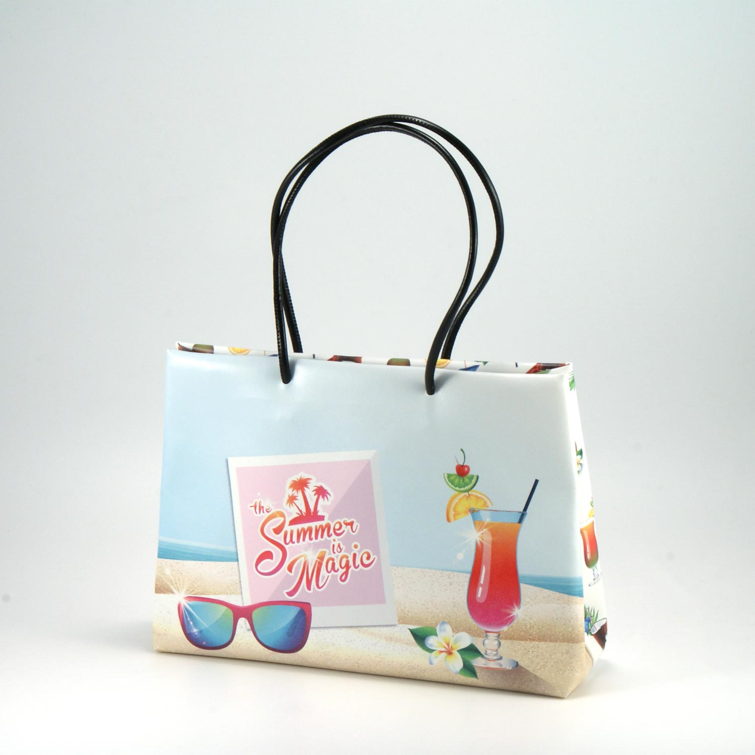 shopper eco pelle mare