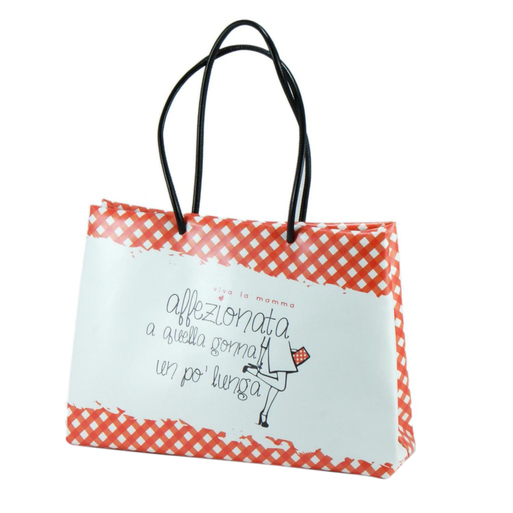 shopper eco pelle mamma