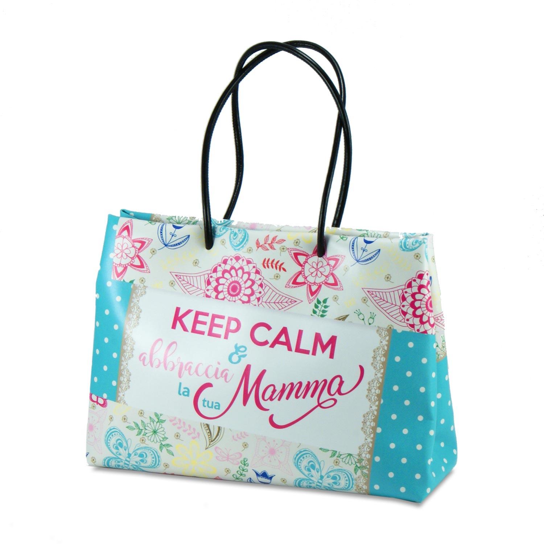 shopper eco pelle mamma