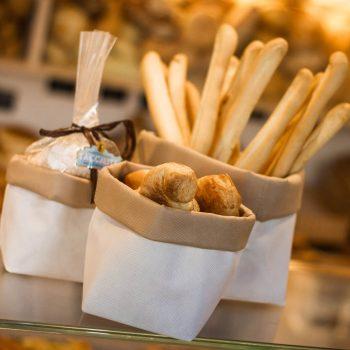 Packaging per alimenti in TNT