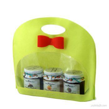 Busta porta barattoli per miele, confetture e sughi - Pubblieffe