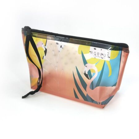 Trousse PVC trasparente con stampa digitale