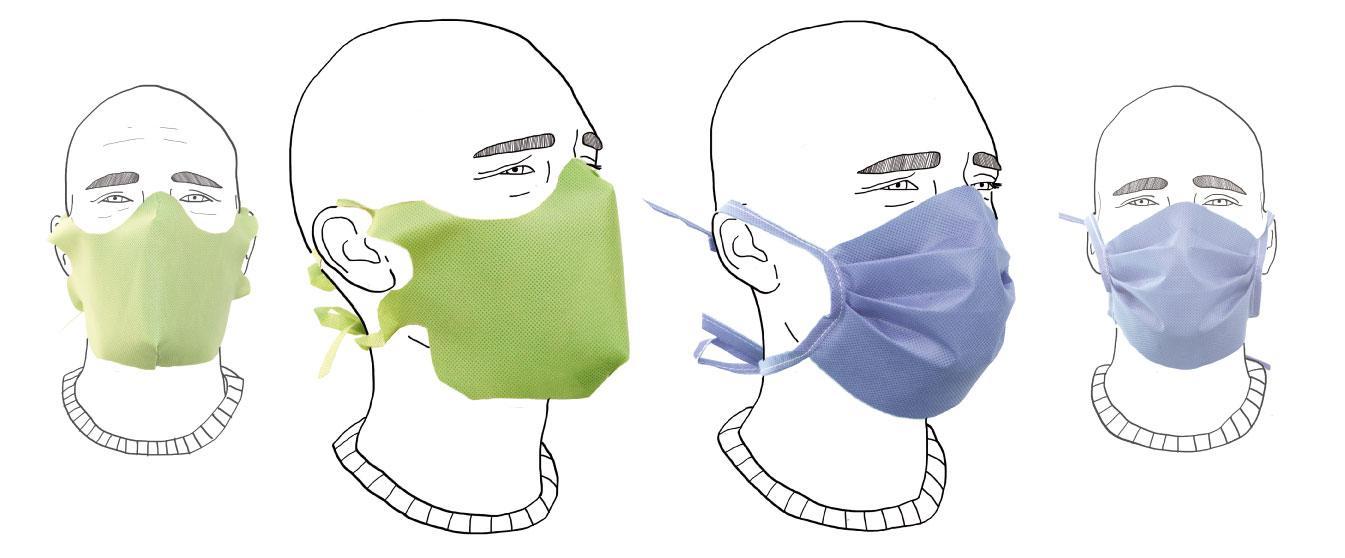 mascherine filtranti in tnt pubblieffe