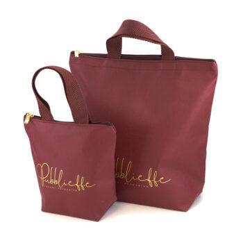 TNT shopping bag con zip